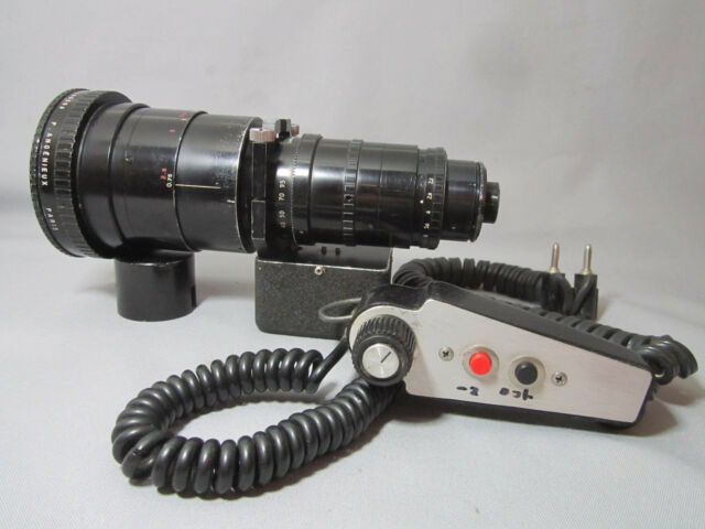 ZOOM MOTOR + CONTROLLER  Fits Many ANGENIEUX ZOOM LENS 16mm MOVIE CAMERA