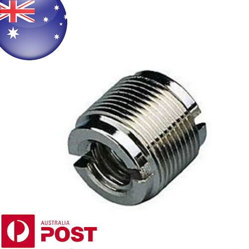 """QUALITY - Microphone Mic Screw Clip Thread Adaptor 3/8"""" to 5/8"""" Connector - Z179"""
