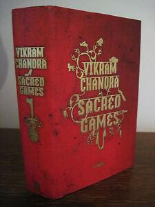 1st-Edition-SACRED-GAMES-Vikram-Chandra-FICTION-First-Printing-NOVEL