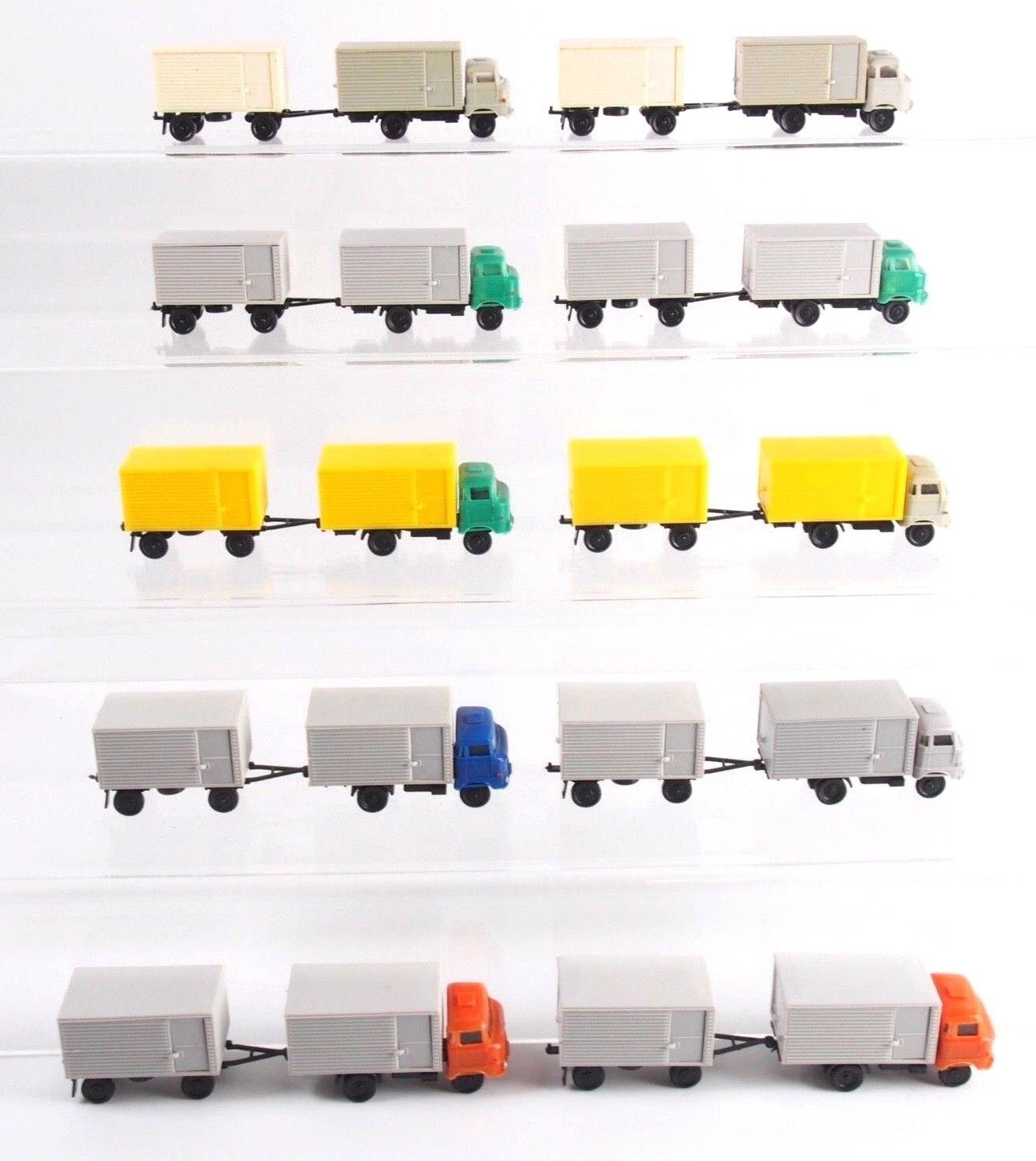 10x Espewe SES Koffer-Lastzüge W 50, Spur TT - 1 120  Cf04
