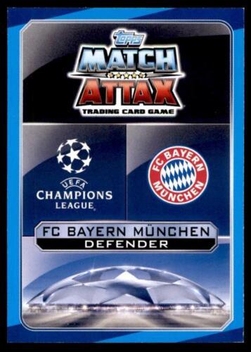 Match Attax Liga de Campeones 16//17 Mats Hummels Bayern München no BAY5