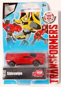 Dickie-Toys-TRANSFORMERS-DIE-CAST-MODEL-Sideswipe-robot-in-travestimento-NUOVO
