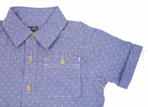 TODDLER BOYS NO RETREAT SHORT SLEEVE BUTTON FRONT WOVEN SHIRT NEW VARIETY