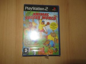 PS2-Animal-Soccer-World-UK-Pal-New-amp-Sony-Factory-Sealed