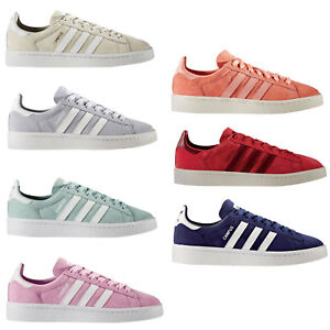 new concept b3a42 17912 Image is loading Adidas-Originals-Campus-Women-039-s-Sneakers-Sport-