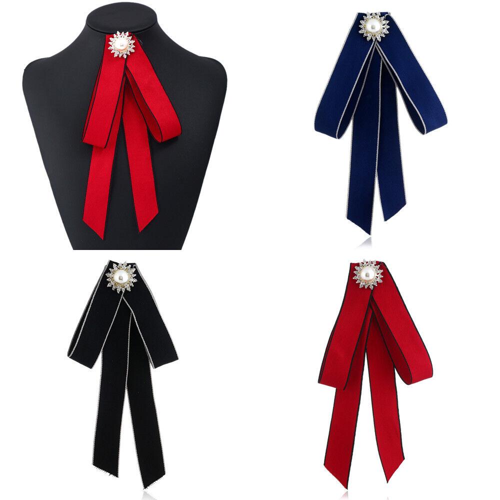Christmas Women Snowflake Decorate Bow Tie Party Xmas Banquet Adjustable Necktie