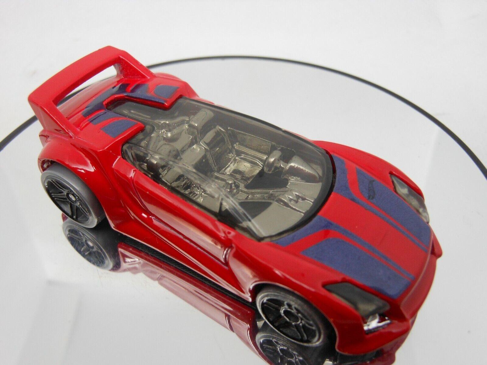 Hot Wheels New For 2013 HW City Nightburnerz Series  Quick N/' Sik  Red w// PR5s