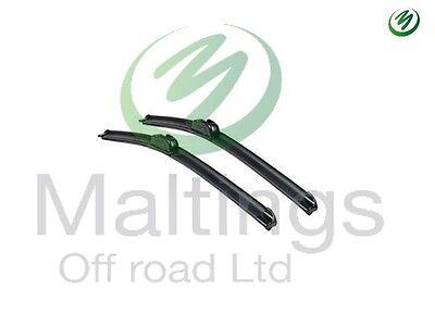 discovery 4 front wiper blades aero fit wiper blades lr018368 x2