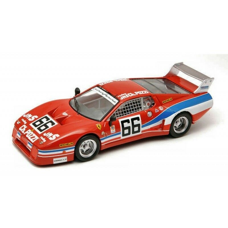 BEST BT9318 FERRARI 512 BB N.66 DAYTONA79 1 43 MODELLINO DIE CAST MODEL