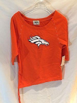 Sport Baseball & Softball Denver Bronco's Damen Shirt-alyssa Milano Touch Collection-very Cute-small