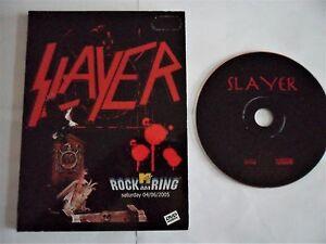 SLAYER-Rare-DVD-Live-Iron-Maiden-Metallica-Judas-Priest-AC-DC-Megadeth-Kreator