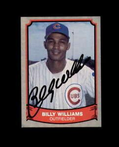 Billy-Williams-Hand-Signed-1989-Pacific-Baseball-Legends-Chicago-Cubs-Autograph