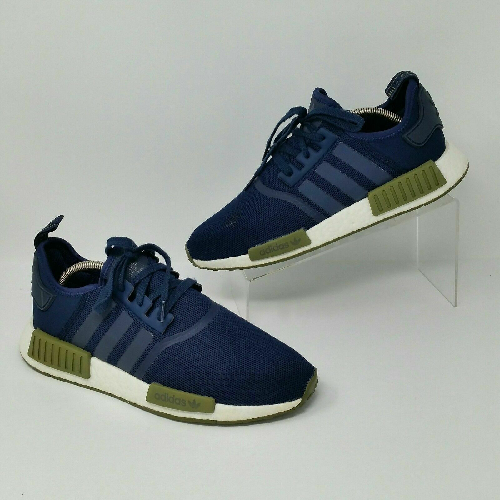 Adidas NMD R1 (Men's Size 11) Athletic Athletic Athletic Training Sneaker shoes Navy bluee Olive 5c40fa