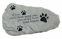 Pet Memorial Stone if Love... Exclusive Design, New, Free Shipping on sale