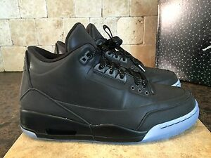 13666a82c45c JORDAN 5LAB3 SHOES MEN S SZ 9.5 631603 010 BLACK   BLACK CLEAR EUC ...