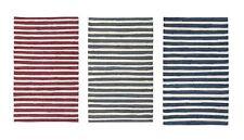 "2-PACK Nourison Brunswick Stripe Accent Floor Area Rugs 24"" x 36"" or 30"" x 48"""