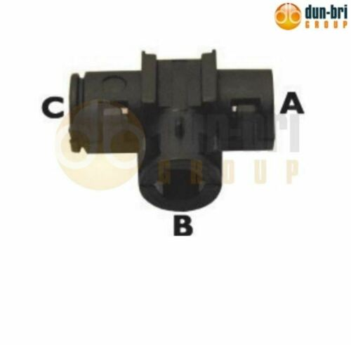 C-NW13 B-NW7.5 DBG Nylon Unsealed /'T/' Piece Conduit Connector A-NW17
