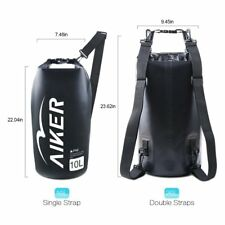 0822835605 AIKER Dry Bag - Waterproof Bag Waterproof Backpack 10L With IPX8 Waterproof
