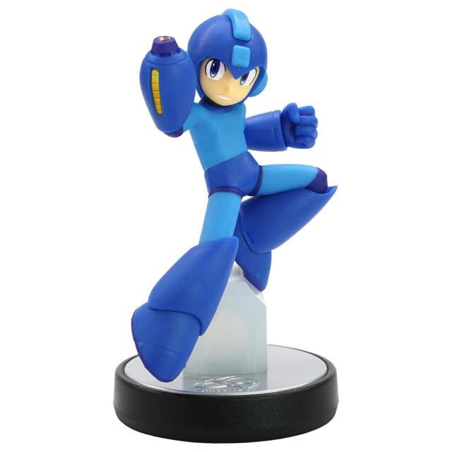 Nuevo Nintendo Amiibo Rockman (Rockman Serie ) Megaman Japón Oficial Importado