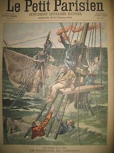 NAUFRAGE-VAPEUR-RENNUS-BOERS-VICTOIRE-SPION-KOP-JOURNAL-LE-PETIT-PARISIEN-1900