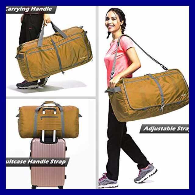 Foldable Duffel Bag 40L ~ 100L for Travel Luggage Gym Sports Duffle Lightweight