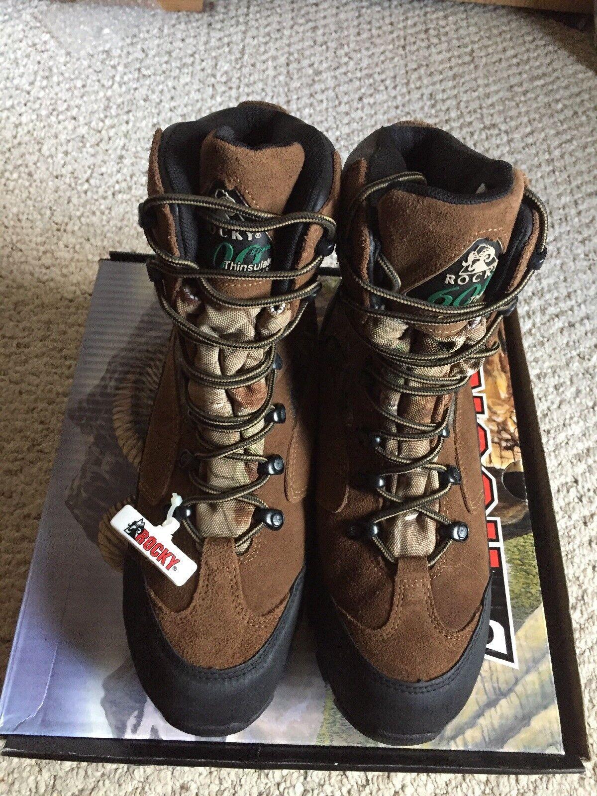 ROCKY Men's GORTEX WEATHERPROOF INSULATED Hunters Hikers Boot NIB
