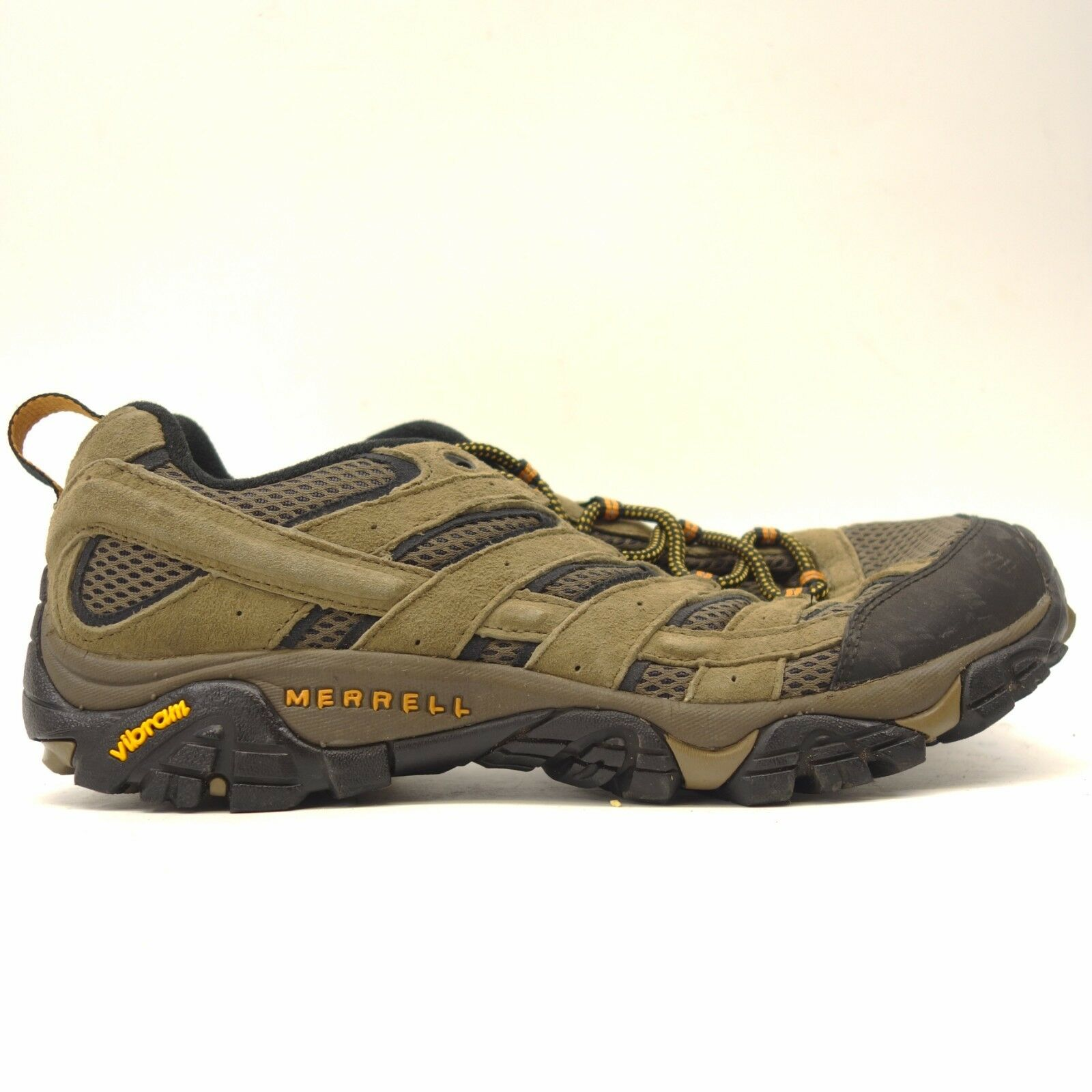 Merrell Mens Moab 2 Waterproof Breathable Athletic Hiking Trail shoes Sz 9.5