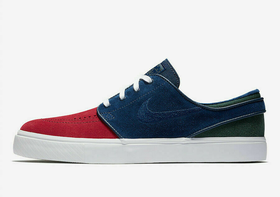 info for 50bc4 11f27 MEN S NIKE ZOOM STEFAN JANOSKI SHOES red bluee white 333824 641