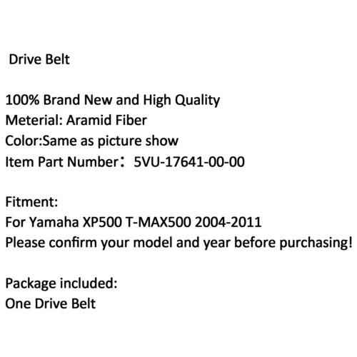 Courroie Ceintures Pour 5VU-17641-00-00 Yamaha XP500 T-MAX 500 2004-2011 AF