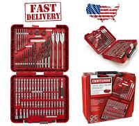 Craftsman 100 Pc Accessory Kit Mechanic Tool Set W/polished Combo Ratchets Case