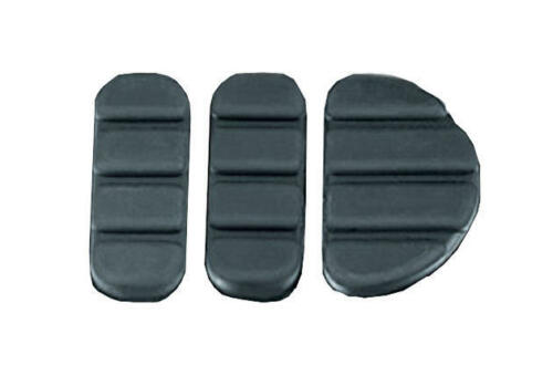 Kuryakyn ISO Brake Pedal Replacement Pads for #8029//4025 Rubber