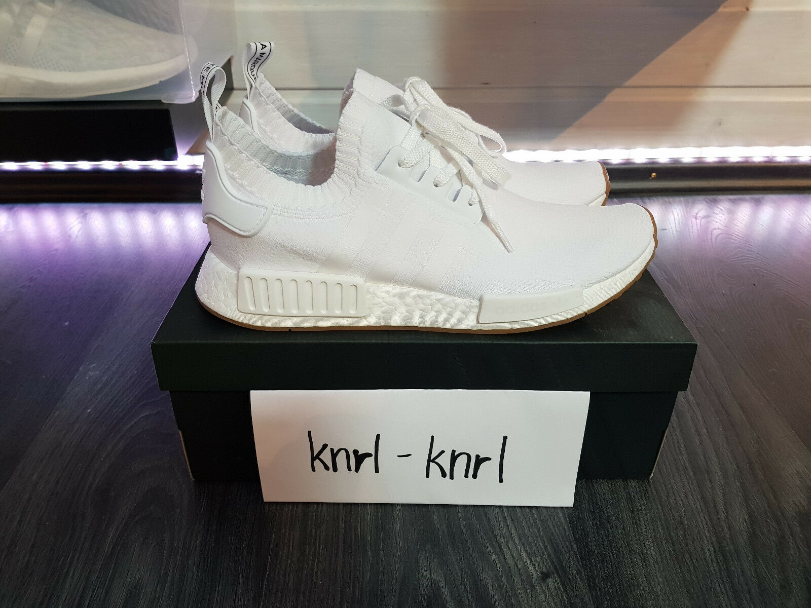 Adidas tamaño: Originals nmd_r1 PK calcetines cortos tamaño: Adidas 44 2/3 Gum Pack 07e23f