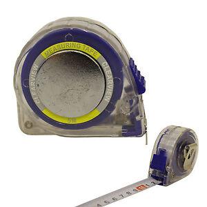 5m-Cinta-metrica-20mm-Transparente-Cubierta-Correa-Clip-medida-cerradura-auto