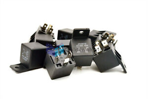 5Pcs JD2912 4 Pins SPST Vehicle Car Security Power Relay DC 24V Coil 40A