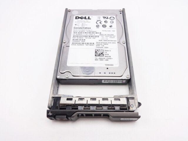 "Dell K831N 500GB NL SAS 6GBPS 7200RPM 2.5"" Hard Drive"