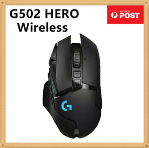 Logitech G502 Lightspeed Hero 16000dpi Wireless Gaming Mouse PC Rechargeable