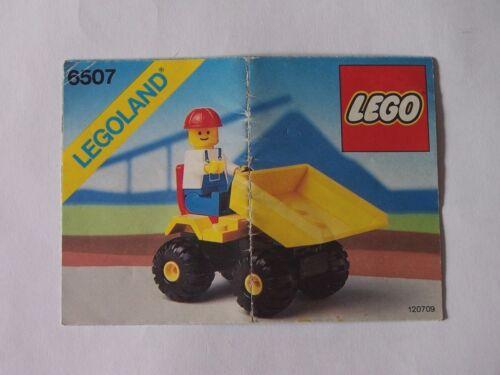 Instruction Nr LEGO® Bauanleitung 6507