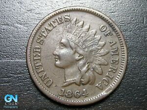 1864-L-Indian-Head-Cent-Penny-MAKE-US-AN-OFFER-B1994