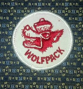 NORTH CAROLINA STATE UNIVERSITY WOLFPACK Sew-On Patch