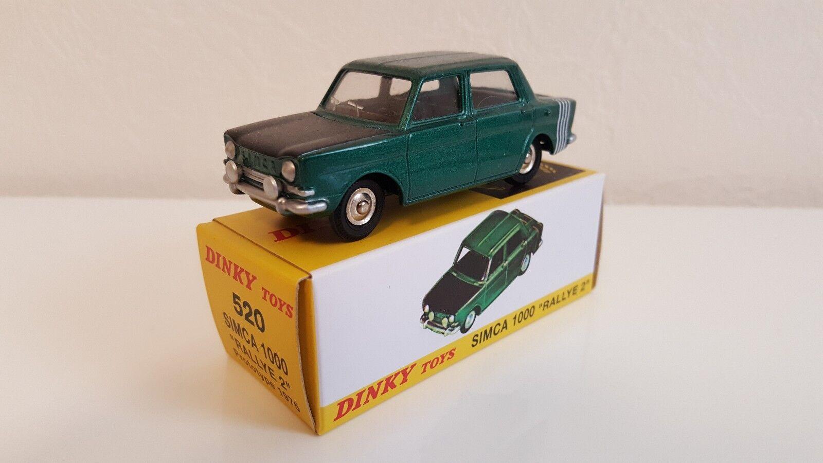 Dinky Toys Atlas - Simca Simca Simca 1000 Rallye 2 (Neuve)  hasta un 60% de descuento