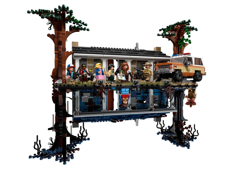 Acrylglas Vitrine Haube für LEGO Modelll 75810 Die andere Seite