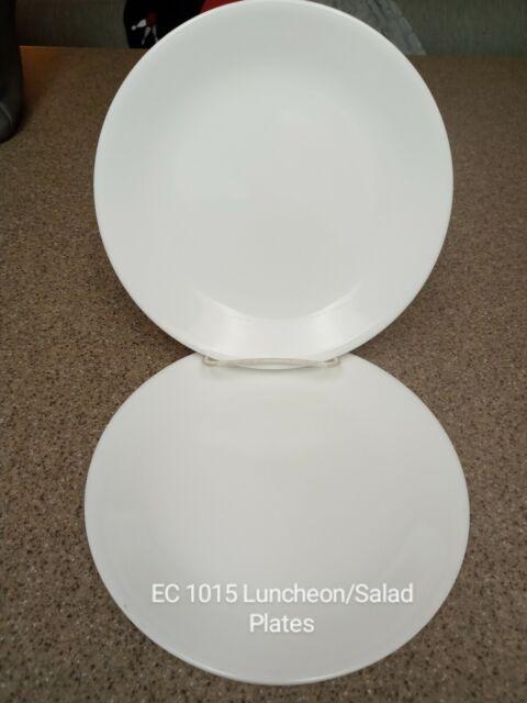 Corelle Livingware Winter Frost White 8 5 Divided Lunch Plate Set Of 12 For Sale Online Ebay