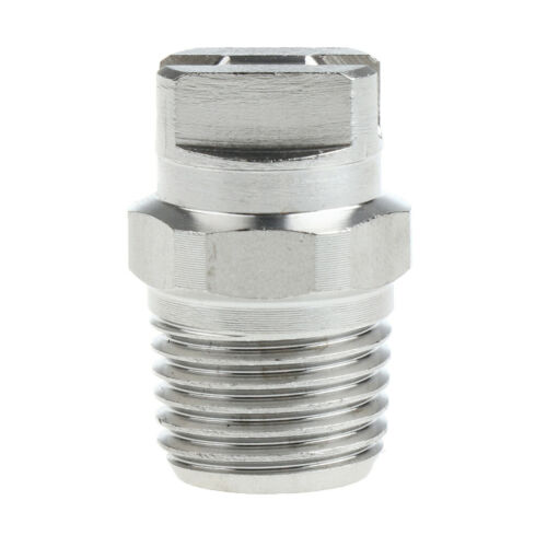 """5xStainless Steel High Pressure Washer Spray Fan Nozzle Head 1//4/"""" SS6503"""