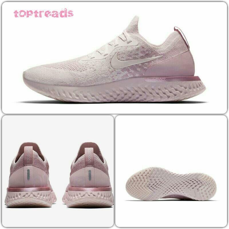Nike epic react flyknit 'pearl pink' men's (AQ0067 600)