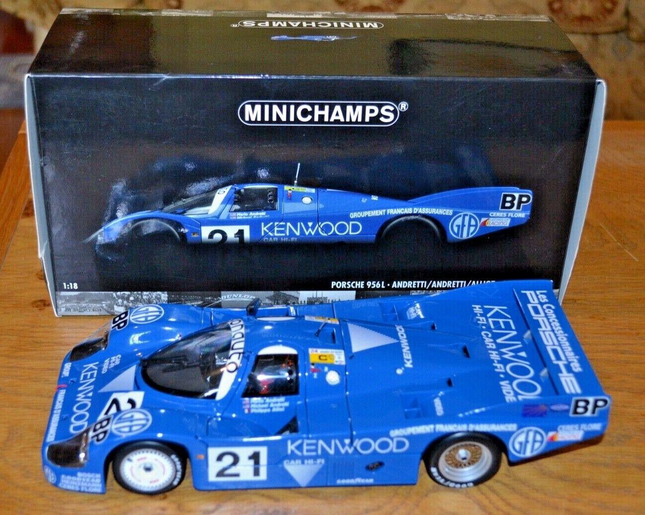 Minichamps 1 18 Porsche 956L Le Mans 1983 Racing voiture; Mint Condition