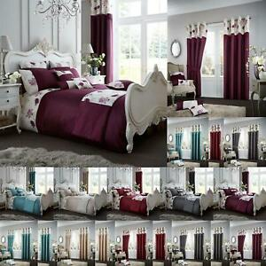 Luxe-Housse-De-Couette-ensembles-avec-taies-d-039-oreiller-King-Size-double-unique-super-Literie
