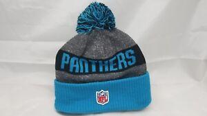 Carolina-Panthers-Cuffed-Beanie-Knit-Winter-Cap-Hat-NFL-Authentic-New-Era