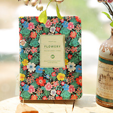 Mini Flower Journal Memo Notebook Paper Notepad Blank Planner Diary Note Book