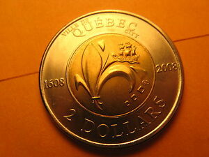 Canada-2008-2-Coin-400th-Anniversary-Of-The-City-Of-Quebec
