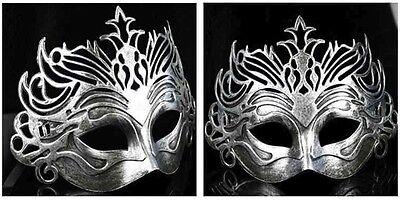 Römisch Gladiator Herren Halbschuhe filigran Maskenspiel Maske Halloween Kostüm